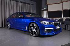 San Marino Blue Bmw M760li Looks Like A Performance