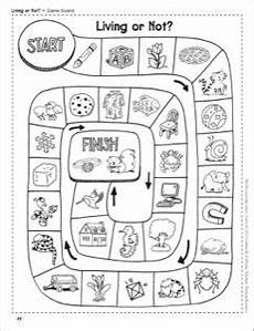 living or not living and nonliving things life science shoe box learning center worksheets