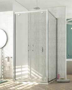 modelli di box doccia box doccia angolare 2 ante pivot h 185 cm vetro temperato