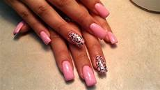 how pretty simple acrylic nails designs youtube