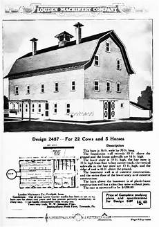 gambrel barn house plans vintage gambrel roof barn floor plan from the louden
