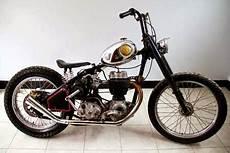 Modifikasi Motor Jadul by Modifikasi Motor Dengan Konsep Jadul Klasik 70 An
