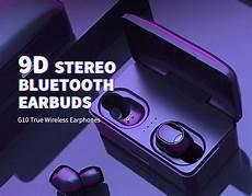 True Wirsless Digital Display Earbuds Binaural by G10 True Wireless Binaural In Ear Earphones 9d Stereo