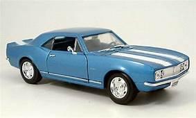 Chevrolet Camaro Z28 1967 Blue Yat Ming Diecast Model Car