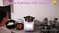 dorades vapeur et poireaux vinaigrette de monsieur cuisine