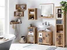 Badmöbel Holz Natur - badm 246 bel set pune i woodkings badezimmer idee