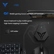 Flydigi Keyboard Mouse Converter Wireless Bluetooth by Flydigi Q1 Pubg Mobile Keyboard Mouse Converter