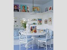 Aerin Lauder kitchen nook Elle decor   Open House: Modern