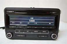 2010 2011 vw volkswagen golf radio cd player 1k0035164d n