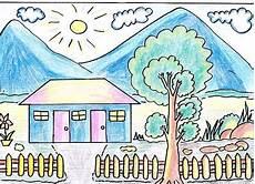 Keren 30 Gambar Pemandangan Untuk Anak Sd Kelas Kumpulan