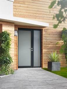 porte d entree vitree installation de porte d entr 233 e vitr 233 e mixte alu bois 224