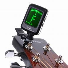 High Quality Mini Clip On Lcd Display Guitar Tuner
