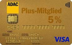 Adac Visa Gold - adac kreditkarte gold mit weltweit 5 tankrabatt
