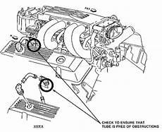 1986 corvette engine diagram 1986 1987 corvette service bulletin service engine soon light code 36 pfi engines vin