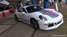 porsche 991 s martini racing edition start up