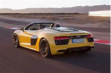 The New Audi R8 V10 Convertible Takes It