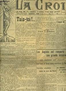 la croix n 176 9651 35e annee 31 aout 1914 tais toi