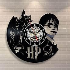 Uhr Malvorlagen Harry Potter Uhren Harry Potter Geschenk Zuhause Dekor Vinyl Wanduhr