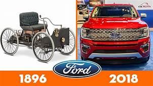 Evolution Of FORD ⚡Cars Timeline ⚡ Car Brands
