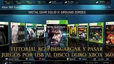 tutorial rgh y pasar juegos por usb al disco duro xbox 360 hack veneno youtube