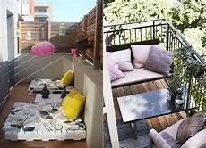 balkonmöbel für schmalen balkon bunte kissen f 252 r mehr komfort und als farbakzent