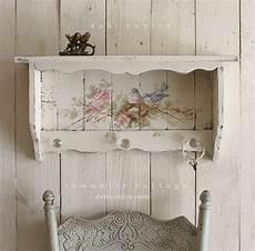 etagere shabby chic shabby chic vintage style bluebird and roses shelf with