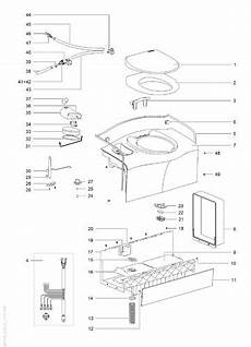 thetford toilette explosionszeichnung 28 images