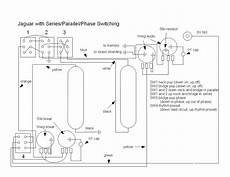 fender jaguar wiring diagram for 1963 wrench fender jaguar rewiring with series parallel and phase switching