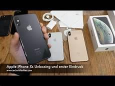 apple iphone xs unboxing und erster eindruck