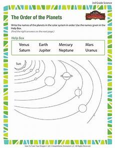 free science worksheets for grade 3 12549 the order of the planets printable science worksheet for 3rd grade with images science