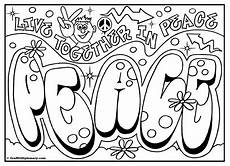 graffiti coloring pages to and print for free