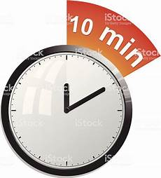 in 10 minuten timer 10 minutes stock vector more images of alarm