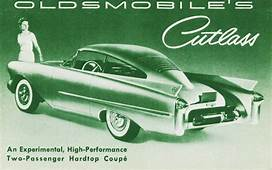 Oldsmobile Cutlass 1954  Old Concept Cars