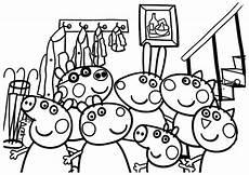 Ausmalbilder Peppa Wutz Familie Peppa Pig 9 Beste Ausmalbilder