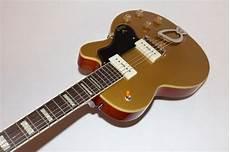 gold top guitar guild m 75 aristocrat gold top hollowbody electric guitar w ebay