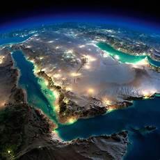 25 Gambar Bumi Waktu Malam Dari Angkasa Yang Difoto Nasa