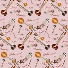 Indianische Muster Malvorlagen Musik Vektorsatz Indische Musikinstrumente Flache Vektor