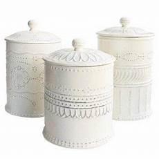 white kitchen canister set white kitchen canister set starfish search
