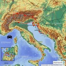 Stepmap Urlaub Kroatien 2018 Landkarte F 252 R Europa