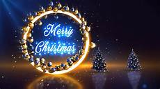 blue gold merry christmas background stock motion graphics motion array