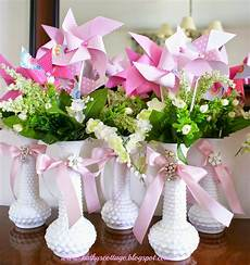 kathys cottage budget wedding and bridal shower centerpieces