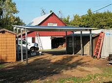 solar carport bausatz solar carport frame absolute steel