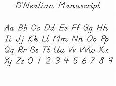 1000 images about d nealian handwriting pinterest lower case letters number words and