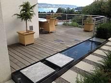 Terrasse Wasserbecken Suche Gartengestaltung