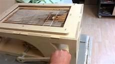 prototyp tiefziehmaschine aus multiplex holz