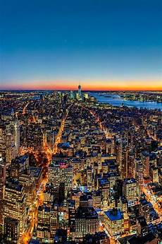 Malvorlagen New York New York New York City At Sunset By Fabian Schneider City New