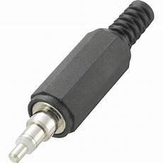 niedervolt steckverbinder stecker gerade 2 5 mm 1 st im