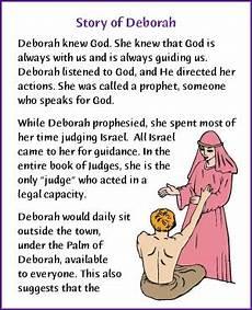 story of deborah story kids korner biblewise