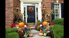 Outdoor Decorations Ideas by Fall Planter Decorations Ideas