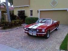 1965 Ford Mustang Convertible Shelby GT 350 Re Creation
